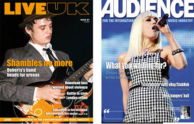 live uk magazine and audience - news for the music industry