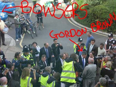 gordon brown and the bowsers