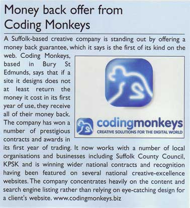 Coding Monkeys used 10 Yetis for an afordable public relations campaign