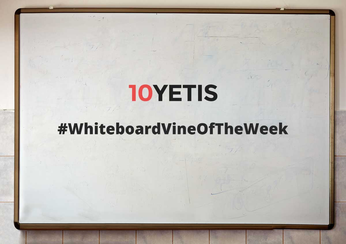 10 Yetis #Take6 Vine – How to go home early on a Friday #PRhacks