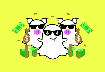 Snapchat is letting its favourite publishers make money off of your posts! Pinterest is growing like you wouldn't believe, Spotify and Hulu team up to save students everywhere! Vimeo is cashing in on stock video!