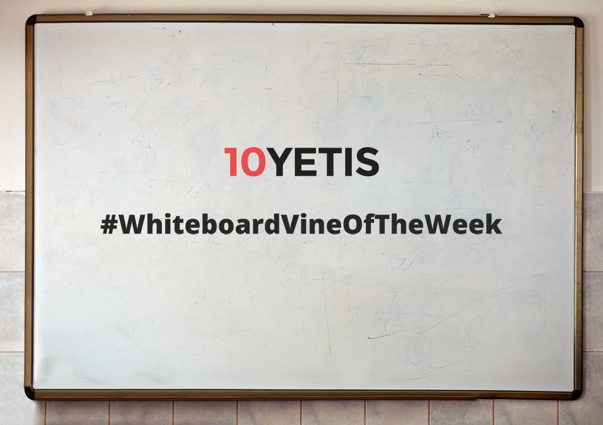 10 Yetis #Take6 Vine - Content Marketing 101